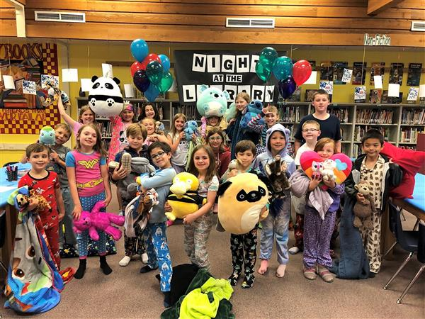 Night at the library 2019