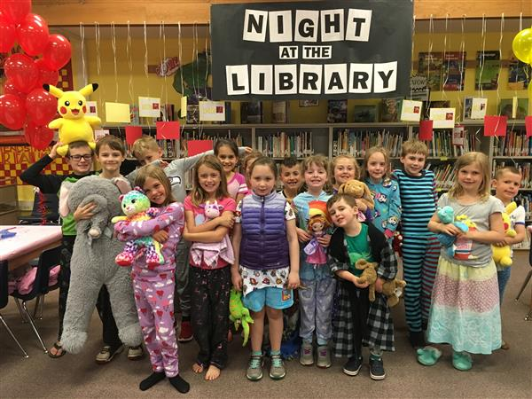 Night at the library 2018